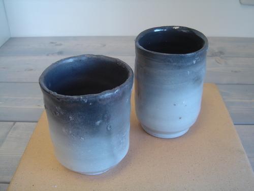 2 窯変湯呑