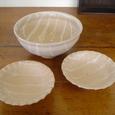 10 白釉碗皿