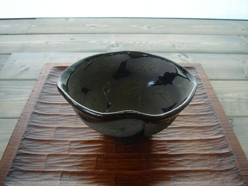 4 黒葉小鉢