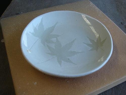 15 もみじ丸皿