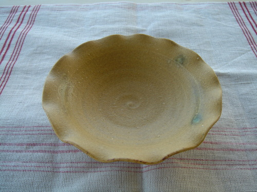 5 イラボ輪花皿